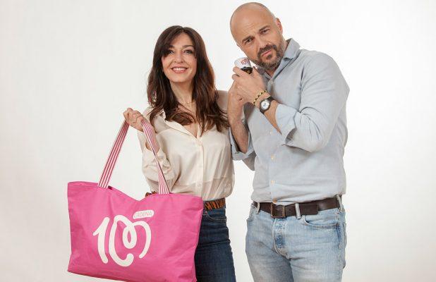 Estreno nueva tienda Cadena 100 con Javi y Mar