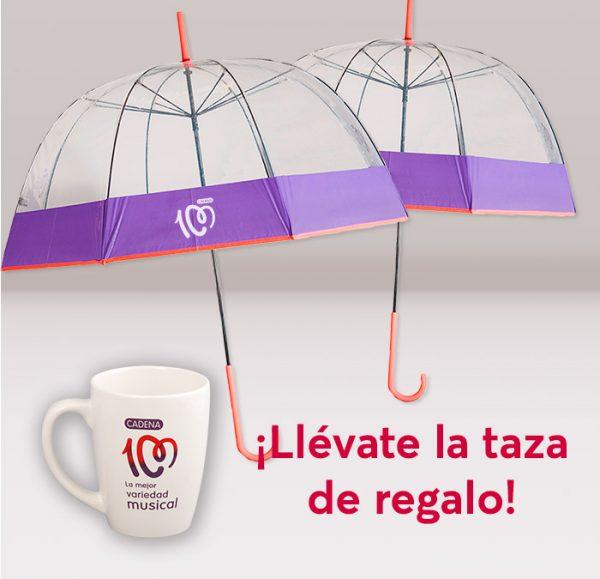 Pack paraguas + taza gratis